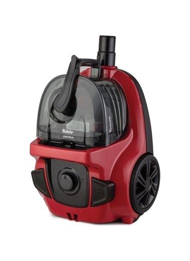 Fakir Intra 800 W Toz Torbasız Süpürge Kırmızı Renkli